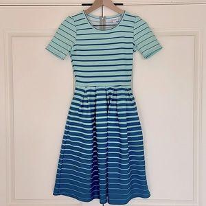 LLR - Striped Blue Amelia